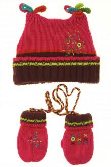 Habit d'occasion pour bébé Ensemble bonnet et moufles Catimini 3 mois Catimini