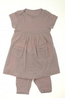 vetements d occasion bébé Ensemble robe et legging Cyrillus 12 mois Cyrillus