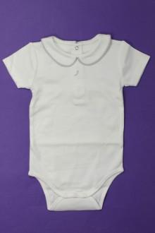 vetement bébé d occasion Body manches courtes à col Sans Marque 6 mois Sans marque