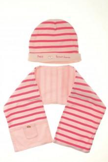 vetement bébé d occasion Ensemble écharpe et bonnet Saint James 12 mois Saint James