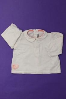 Habits pour bébé occasion Tee-shirt manches longues à pois Sergent Major 3 mois Sergent Major