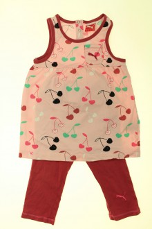 vetements enfant occasion Ensemble robe et legging Puma 2 ans Puma