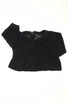 habits bébé Tee-shirt manches longues à pois Petit Bateau 3 mois Petit Bateau
