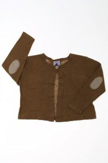 habits bébé Gilet 1 bouton Petit Bateau 18 mois Petit Bateau