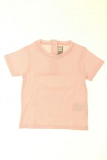 vêtements bébés Tee-shirt manches courtes DPAM 3 mois DPAM