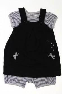 vêtements bébés Ensemble robe et combishort Berlingot 9 mois Berlingot