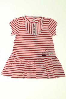 vêtements bébés Robe rayée Sucre d'Orge 9 mois Sucre d'Orge