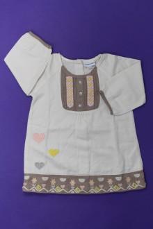 Habits pour bébé occasion Robe manches longues Vertbaudet 12 mois Vertbaudet