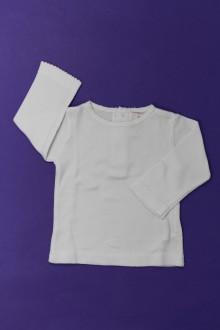 Habit de bébé d'occasion Tee-shirt manches longues DPAM 3 mois DPAM