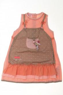 vêtements occasion enfants Robe tablier La Compagnie des Petits 2 ans La Compagnie des Petits