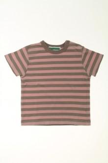 Habits pour bébé occasion Tee-shirt manches courtes rayé Vertbaudet 3 mois Vertbaudet