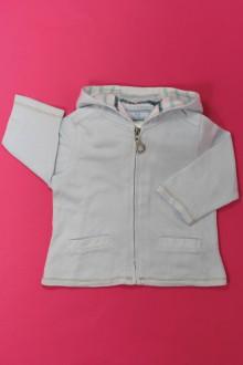 habits bébé occasion Sweat zippé Vertbaudet 9 mois Vertbaudet