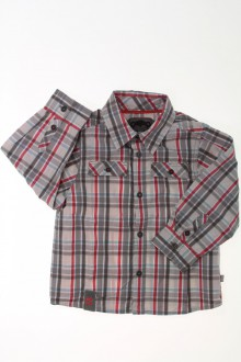 habits bébé Chemise à carreaux Obaïbi 18 mois Obaïbi