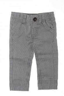 habits bébé Pantalon à fines rayures Tape à l'œil 3 mois Tape à l'œil