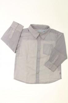 vêtements bébés Chemise à fines rayures Obaïbi 18 mois Obaïbi