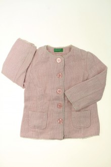 vetement occasion enfants Veste en tweed Benetton 9 ans Benetton