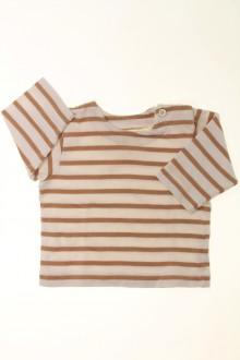 vêtements bébés Marinière Petit Bateau 6 mois Petit Bateau