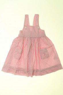 Habits pour bébé Robe à petits carreaux Cyrillus 9 mois Cyrillus