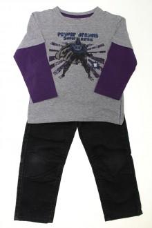 vetement enfant occasion Ensemble pantalon et tee-shirt Vertbaudet 4 ans Vertbaudet