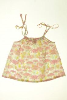 vêtements enfants occasion Blouse fleurie Cyrillus 6 ans Cyrillus