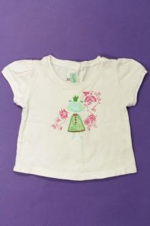 Habit de bébé d'occasion Tee-shirt manches courtes