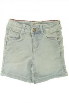 vetement d'occasion Short en jean délavé Okaïdi 4 ans Okaïdi
