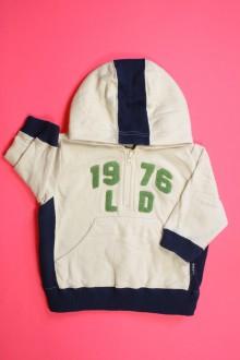 Habit d'occasion pour bébé Sweat zippé à capuche H&M 6 mois H&M