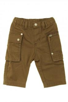 Habit d'occasion pour bébé Pantalon en toile épaisse Petit Bateau 3 mois Petit Bateau