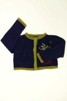 vêtements enfants occasion Gilet brodé Marèse 2 ans Marèse