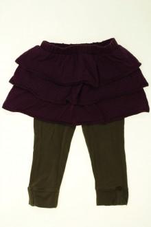 Habits pour bébé occasion Jupe legging intégré Vertbaudet 18 mois Vertbaudet