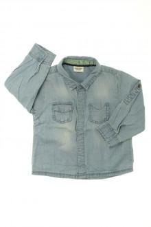 vêtements bébés Chemise en jean Tape à l'Œil 18 mois Tape à l'œil