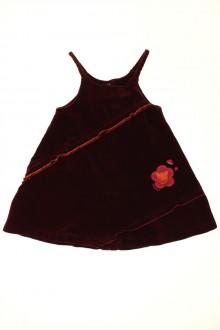 vêtements occasion enfants Robe en velours à fines bretelles Absorba 2 ans Absorba