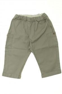 habits bébé Pantalon en toile Petit Bateau 12 mois Petit Bateau