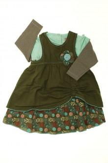 vetements d occasion bébé Ensemble robe et tee-shirt Orchestra 18 mois Orchestra