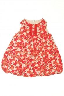 vêtements bébés Robe en lin fleuri Zara 9 mois Zara