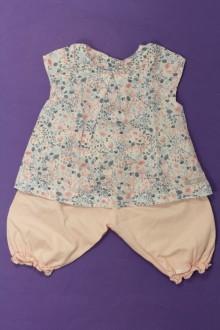 habits bébé Ensemble blouse et sarouhel Lili Gaufrette 9 mois Lili Gaufrette