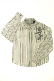 vêtements occasion enfants Chemise rayée Okaïdi 6 ans Okaïdi