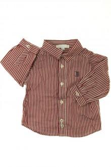 vêtements bébés Chemise à rayures Jacadi 6 mois Jacadi