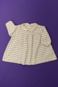 Habits pour bébé Robe rayée Petit Bateau 3 mois Petit Bateau