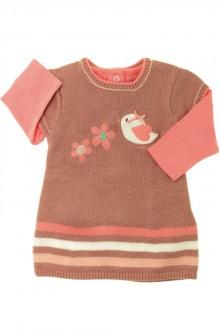 Habits pour bébé occasion Ensemble robe et tee-shirt Orchestra 1 mois Orchestra