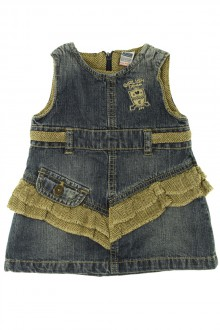 Habit de bébé d'occasion Robe en jean Zara 6 mois Zara
