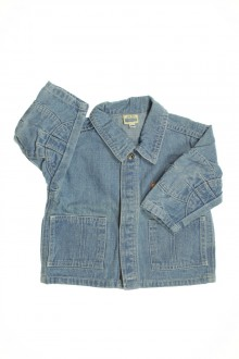 vêtements bébés Veste en jean vintage Sergent Major 12 mois Sergent Major