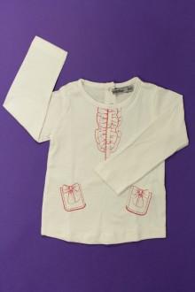 Habits pour bébé occasion Tee-shirt manches longues trompe l'œil Tape à l'œil 12 mois Tape à l'œil