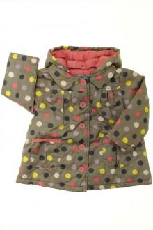 vêtements occasion enfants Parka à pois Tape à l'Œil 2 ans Tape à l'œil