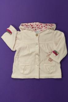vêtements bébés Sweat en velours Cadet Rousselle 6 mois Cadet Rousselle
