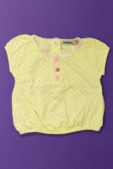 habits bébé occasion Tee-shirt manches courtes à pois Tape à l'Œil 6 mois Tape à l'œil