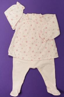 habits bébé Pyjama/Dors-bien en coton avec blouse Petit Bateau 6 mois Petit Bateau