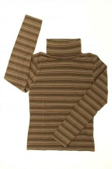 vêtements d occasion enfants Sous-pull rayé Okaïdi 12 ans Okaïdi