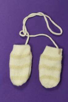 vetement bébé d occasion Moufles rayées DPAM 18 mois DPAM