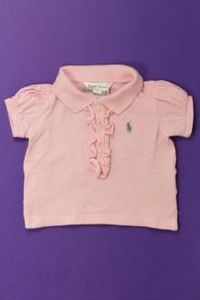 Habits pour bébé occasion Polo manches courtes Ralph Lauren 3 mois Ralph Lauren